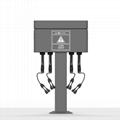 4路直流電瓶車電動自行車共享充電樁 2