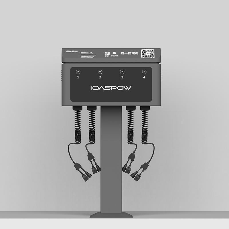 4路直流電瓶車電動自行車共享充電樁 1