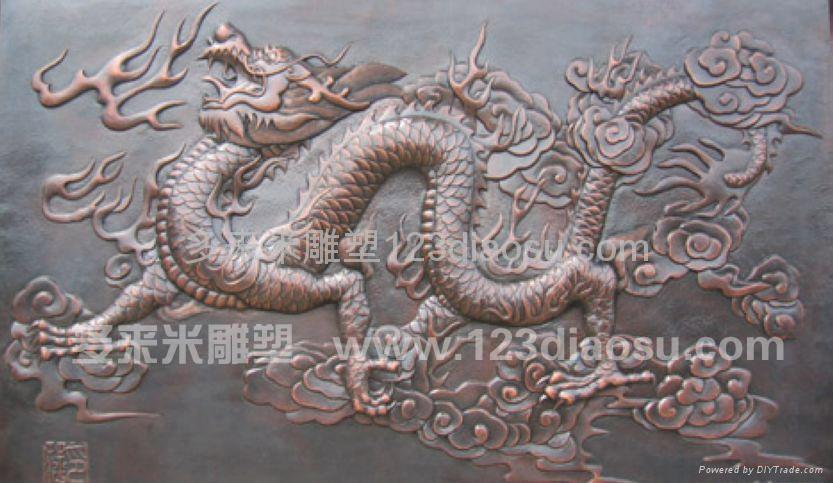 上海铜雕 2