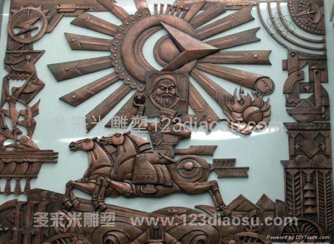 上海铜雕 4