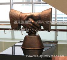 上海玻璃钢雕塑 1