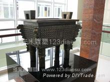 上海玻璃钢雕塑 3