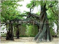 上海假山假樹雕塑