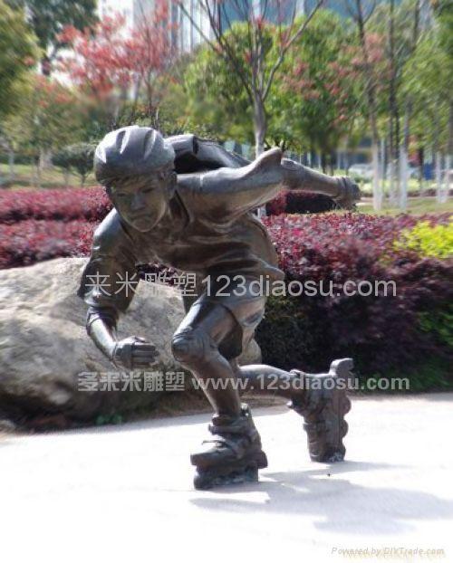 上海铜雕 5