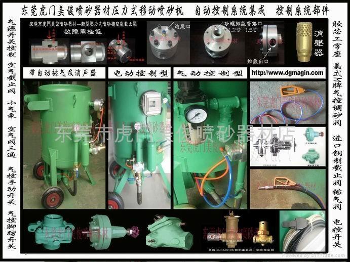 氣控調砂閥 氣控開關 自動排氣閥 壓力式噴砂機配件