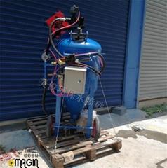 環保除鏽高壓水噴砂機