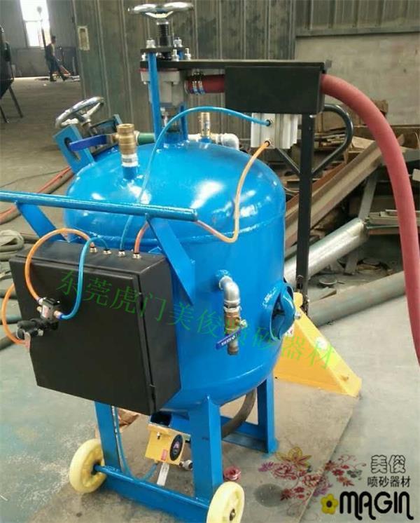 環保除鏽高壓水噴砂機 4
