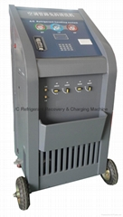 Full Automatic A/C Refrigerant Recovery&Charging Machine