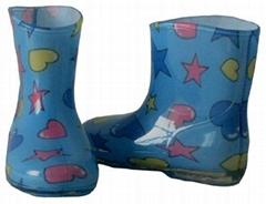 中童靴(彩)_儿童雨靴