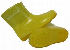 中童靴(黃)_儿童雨靴