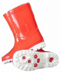 女靴(红)_女士雨靴_橡胶雨靴