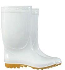 男靴(白)_雨靴—男靴系列