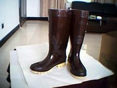 男靴(茶)_雨靴—男靴系列