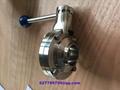 美标德标3A SMS DIN卫生级焊接蝶阀和止回阀 2