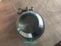 美标德标3A SMS DIN卫生级焊接蝶阀和止回阀 4