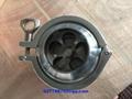 美标德标3A SMS DIN卫生级焊接蝶阀和止回阀 5