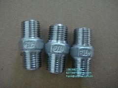 不锈钢150磅螺纹管件 NPT BSPT RC螺纹 304 316材质
