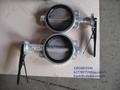 灰铸铁球墨铸铁对夹式工业蝶阀