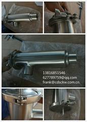 卫生食品级卡箍 由任 接头 清洗球 取样阀 角式过滤器 不锈钢材质