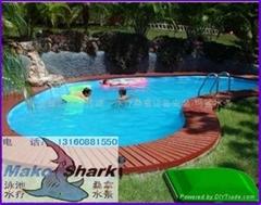 玛鲨地埋式一体泳池过滤机