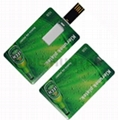 Credit card usb drive mini usb drive card usb disk udp usb 1