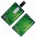Credit card usb drive mini usb drive