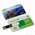 Credit card usb drive mini usb drive card usb disk udp usb 3
