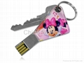 Common key usb flash drive mini key usb