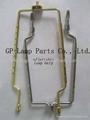 adjustable lamp harps, lamp harp