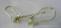 bulb clip adapters, lamp shades clip adapters, bulb clips for lampshades