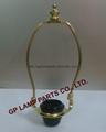custom Euro fitter lamp harp