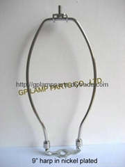 UL standard fixed style lamp harp