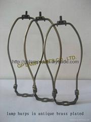 UL moveable lamp harp -