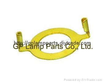 lamp harp converter slip uno adapter , lamp shade harp UNO adapter ring  1