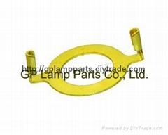 slip uno adapter lamp harp converter, lampshade Euro fitter