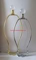 lamp harp with crystal lamp finials sets