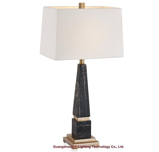 marble table lamp, hotel guest room table lamp, table lamp for living bedroom 1