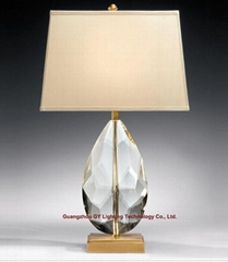 crystal table lamp, hotel table lamp, table lamp for living room and bedroom