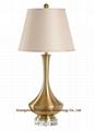 metal table lamp, hotel table lamp,