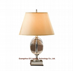 table lamps in crystal , hotel table lamp, bedroom table lamp, villa table lamps