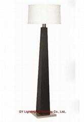 modern beech wood floor lamp, standing lamps for hotel, villa, living room