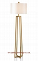 stainless steel floor lamp, standing