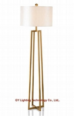 stainless steel floor lamp, standing lamps for hotel, living room, bedroom