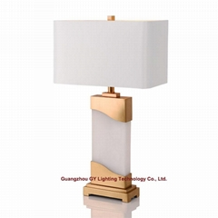 marble table lamps, desk lamps for hotels, living rooms, bedroom, lobby