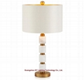 marble table lamps for hotels, living