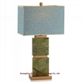 modern designer marble table lamp for