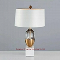 new design marble crystal table lamp for