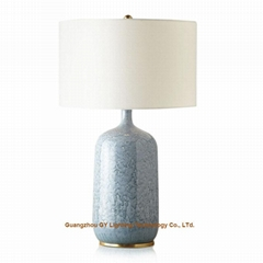 new porcelain table lamp, ceramic table