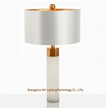 marble table lamps lamps for hotels,