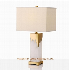 fashion marble table lamps lamps for
